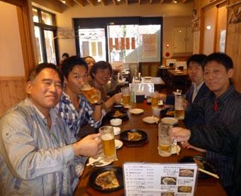 高円寺フードツアーのメンバー