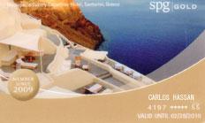 SPG Gold Card